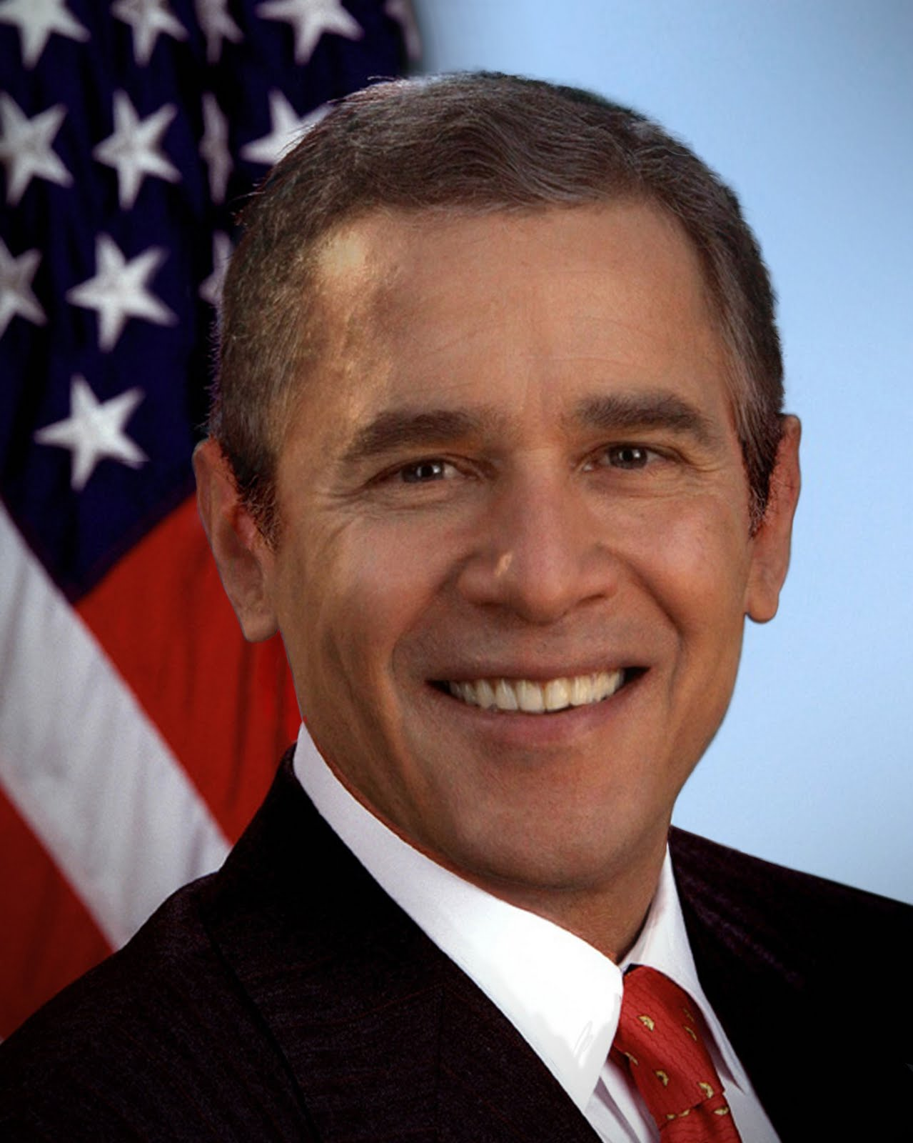 Marius Vibe's Blog Cabin: Morph-o'-the-Week #1: George W ...