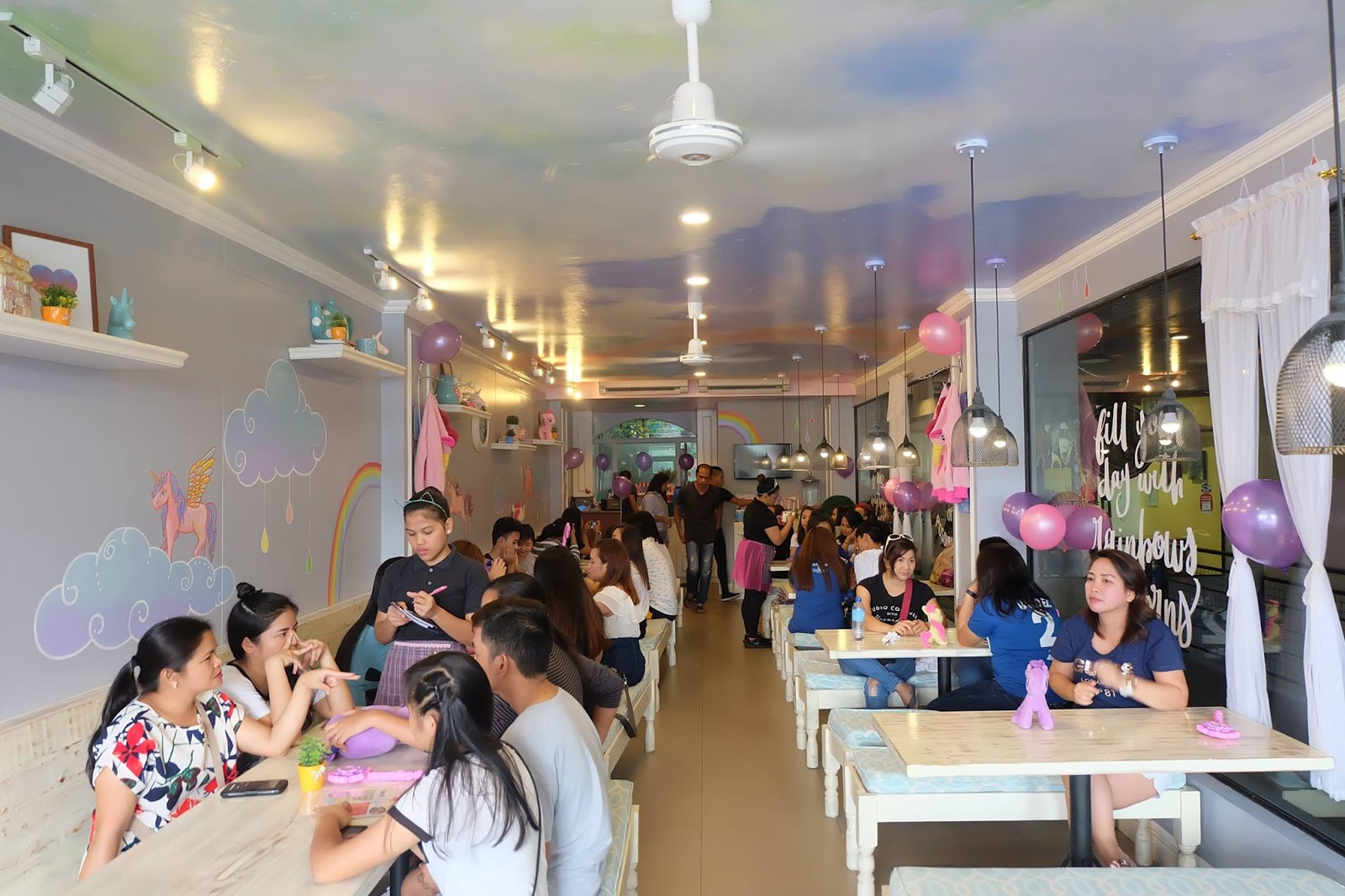 The First Unicorn Themed Cafe Restaurant In Maginhawa The Diary Queen
