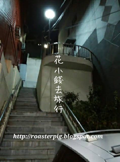 晚間釜山樓梯