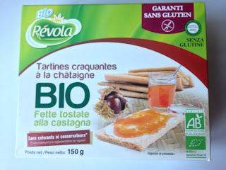 Tartines craquantes à la châtaigne - Bio Révola