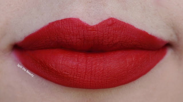 lady balls - lips too faced melted mattes review swatch