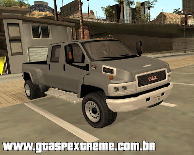 GMC Topkick C4500 2008 para grand theft auto