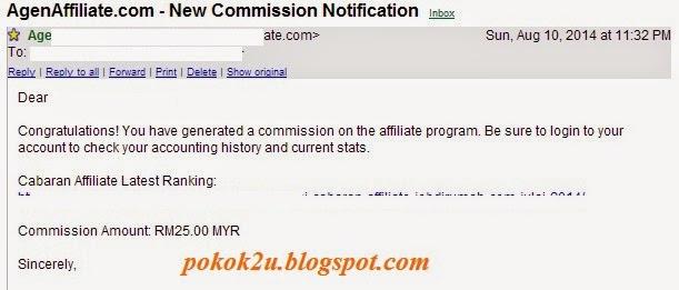 Komisen Jobdirumah Bulan Ogos 2014 dan Panduannya, jobdirumah,