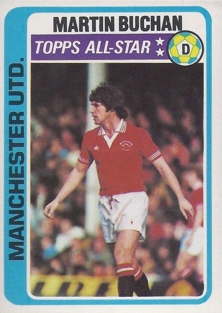 PALE BLUE BACK 1979 TOPPS-FOOTBALL STEVE GATTING -#348- ARSENAL