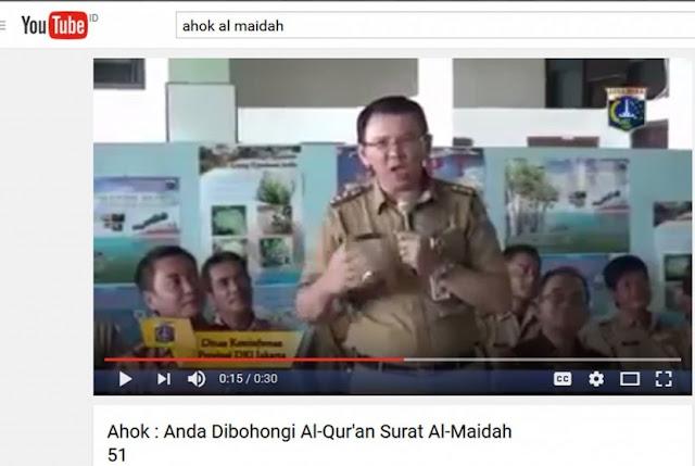 Pakar Hukum Pidana: Ahok Memang Melakukan Penodaan Agama Islam