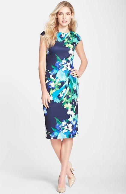 estampado vestido primavera moda