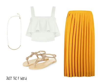 Fifty Friday | Pleated Skirts