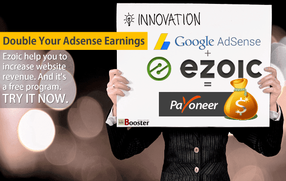 Ezoic - Double Your Adsense Earnings