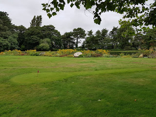 Grass Putting course at Lowther Gardens in Lytham