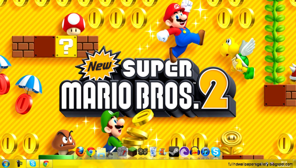New Super Mario Bros 2 Wallpapers Full Hd Wallpapers