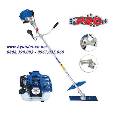máy cắt cỏ hyundai TB-33AH, máy cắt cỏ cầm tay Hyundai TB-33AH