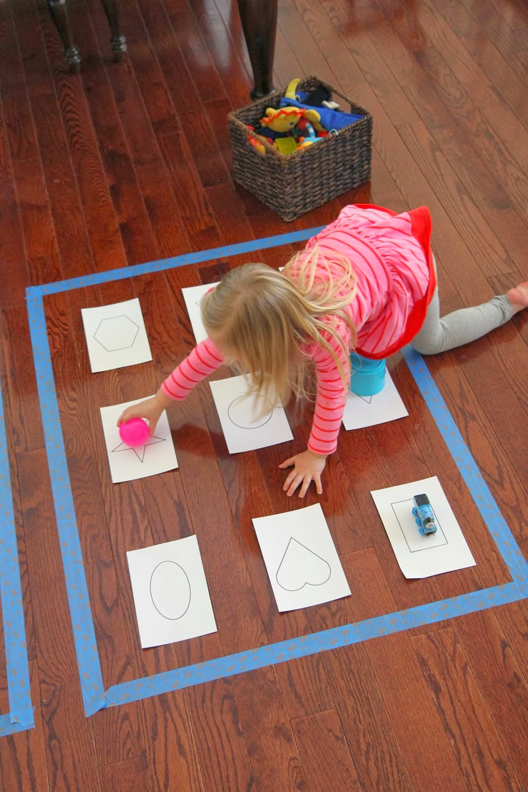 Shapes arts and crafts for kids