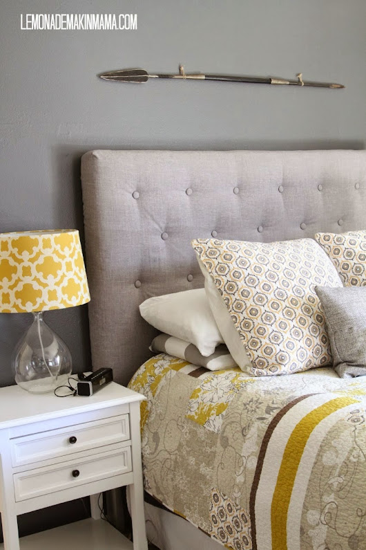 Update your Bedroom with a DIY Headboard