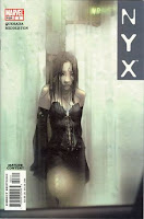 1st appearance of X-23 NYX #3 comic cover