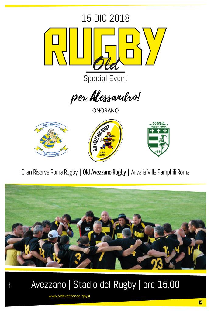 torneo Venditti - rugby old avezzano