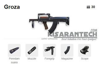 senjata ar tersakit di ff