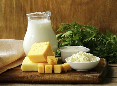 منتجات الألبان من الاغذية المسببة لعسر الهضم
