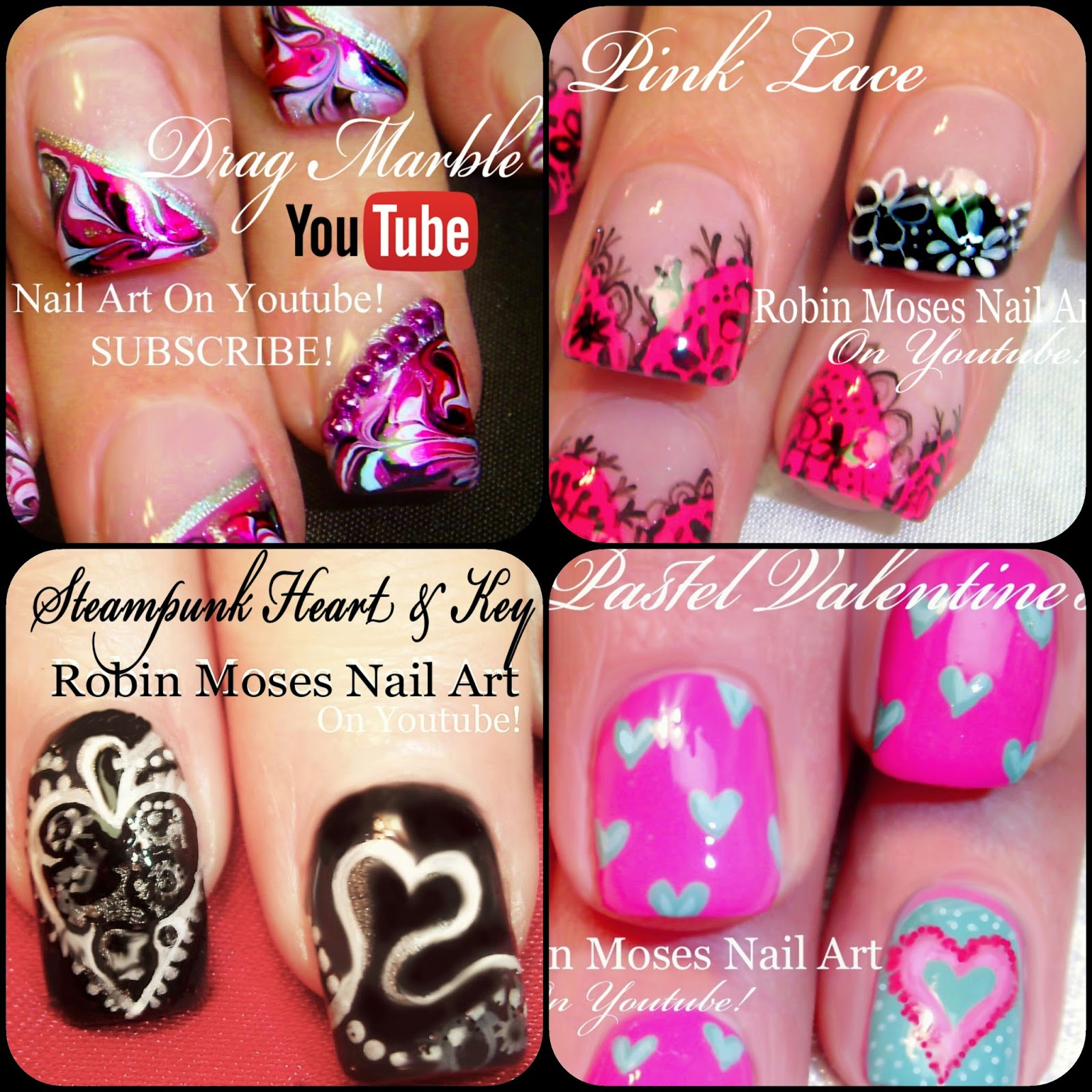 Robin Moses Nail Art February 2015: Robin Moses Nail Art