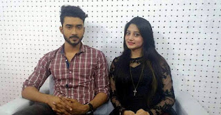 Puja Cherry Roy and Bangladeshi Actor Ziaul M R Roshan