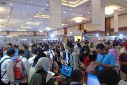 Antri Panjang! Zona Kalap Indonesia International Book Fair 2018 Sukses Diserbu Pengunjung