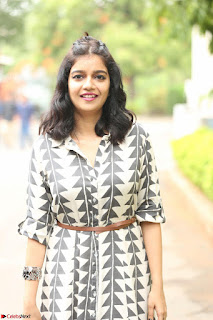 Swathi Reddy Looks super cute at London Babulu theatrical trailer launch ~  Exclusive 075.JPG