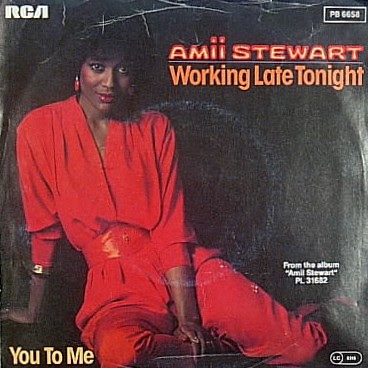 Sanremo 1983 - Amii Stewart - Working late tonight