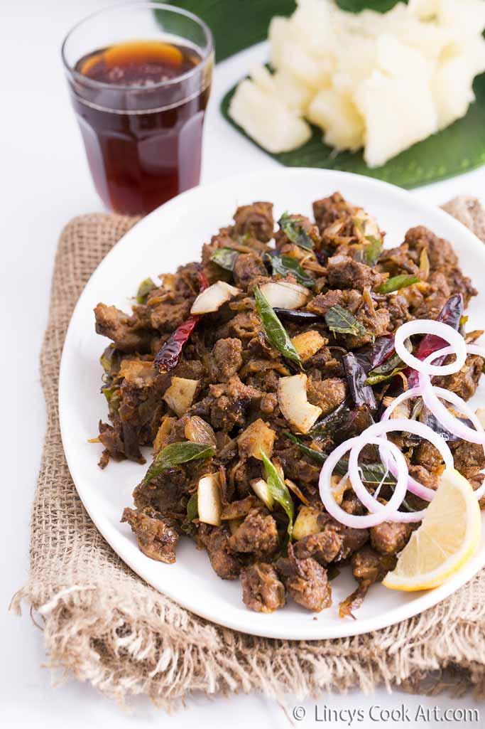 Beef Olathiyathu recipe