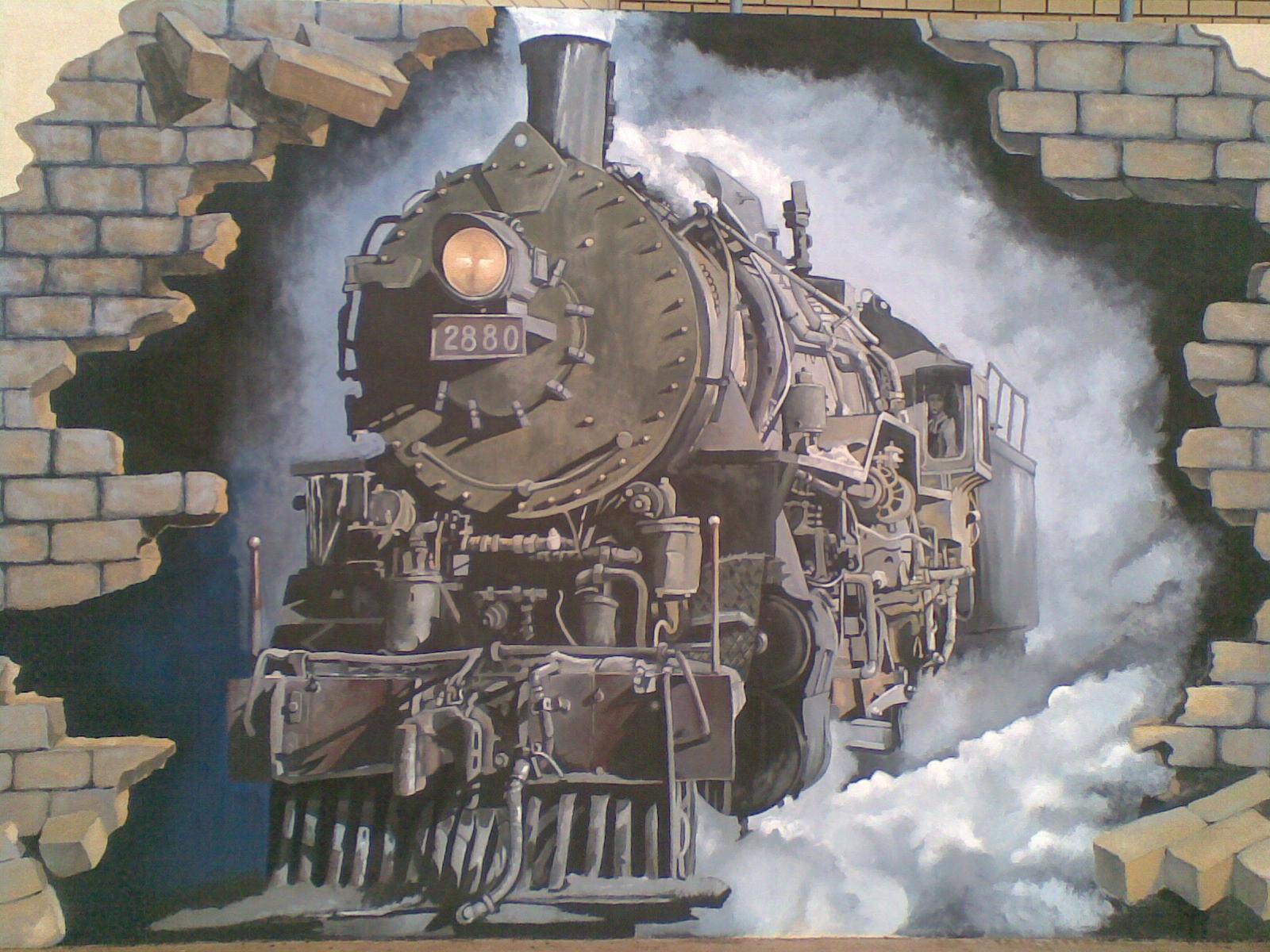WSPTU: Steam Train Painting