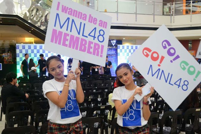 MNL48 Audition members first generation audisi 1