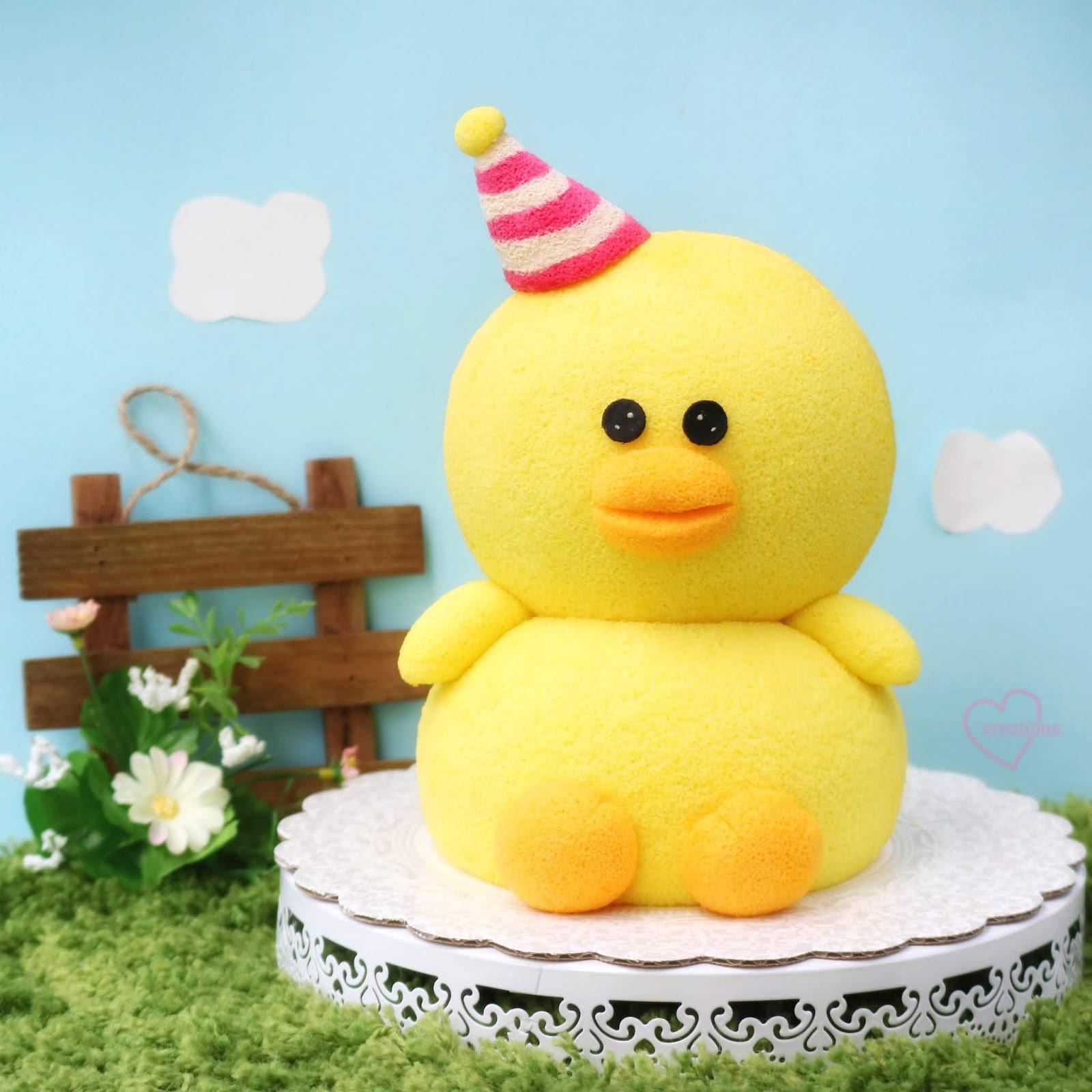 Loving Creations for You: Sally Duck Chiffon Cake