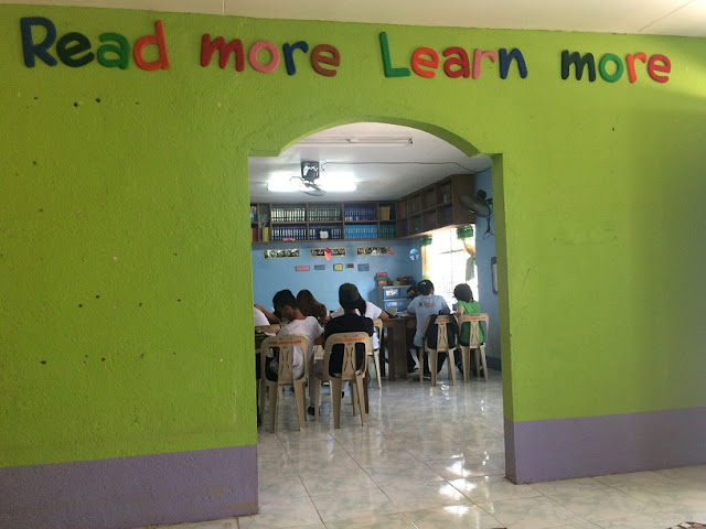 Alternative Learning System Class held at a public elementary school in Bulacan