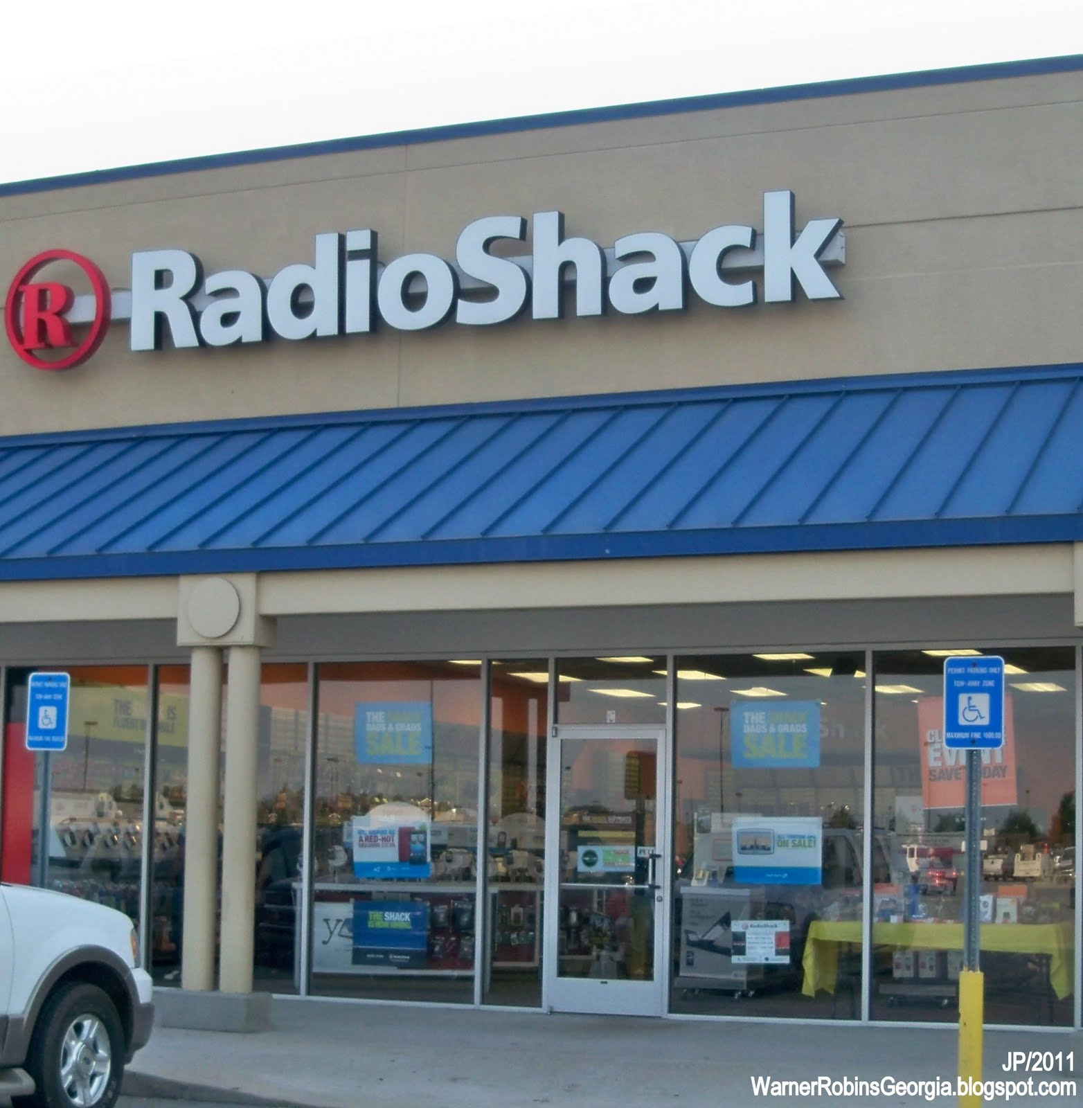 Radio Shack Stores: WARNER ROBINS GEORGIA Air Force Base Houston Restaurant