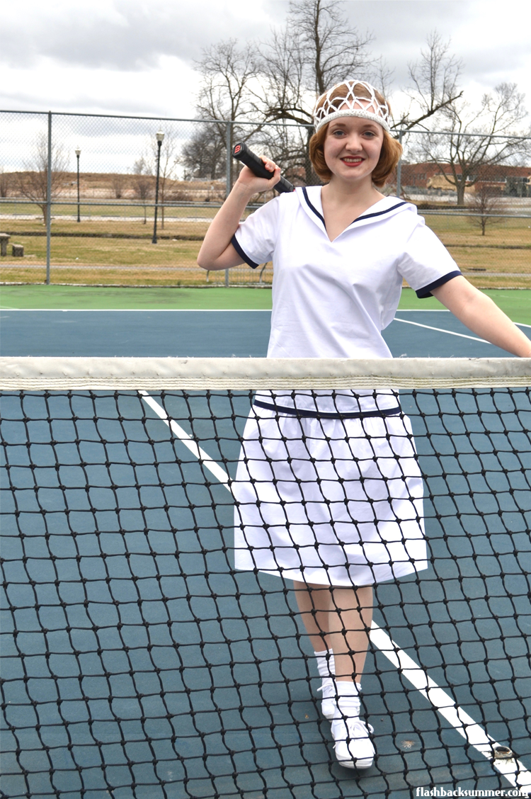 Flashback Summer: 1920s Tennis Dress from House of Recollections