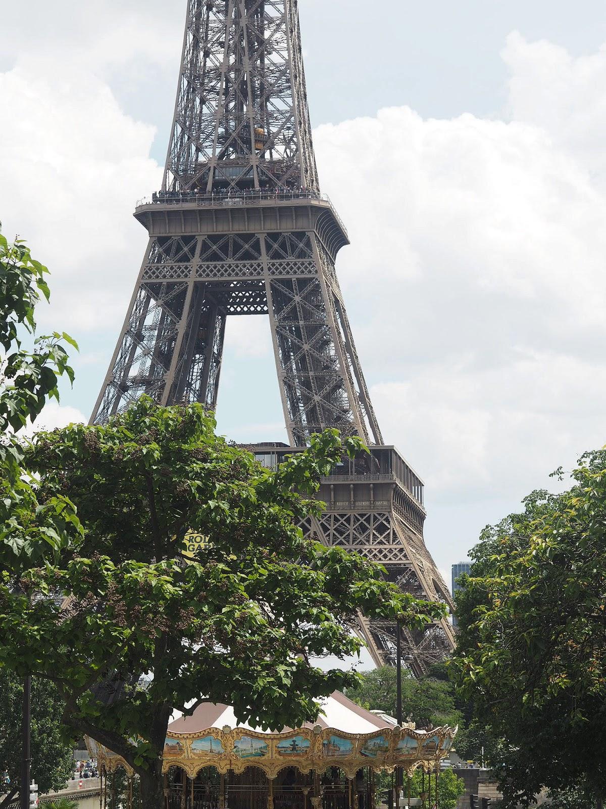 Paris - Eiffel Tower - La Tour Eiffel