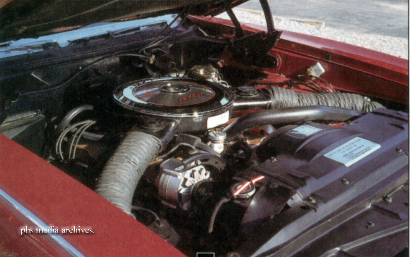 1968 was the last year for under the bumper ram air induction. This W30 car  sports the set up.