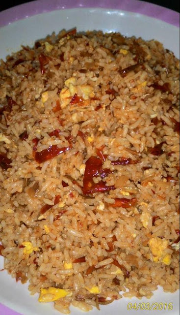 Resepi Nasi Goreng Cili Kering Mudah dan Sedap