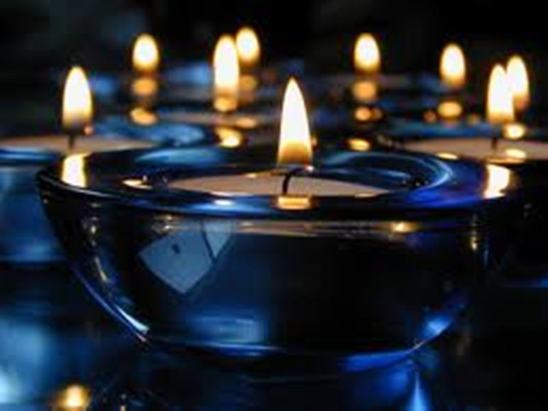 Beautiful Hd Happy Diwali With Candles Wallpaper: Beautiful Desktop Wallpaper, Natural Wallpaper, Love