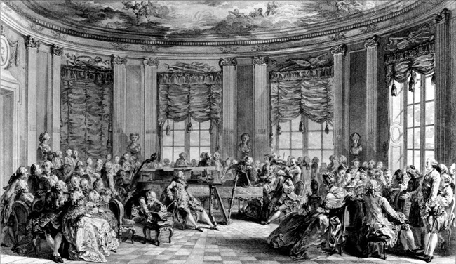 French Salon concert