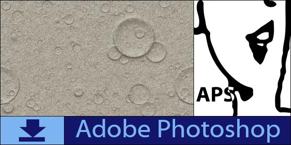 Free Craters seamless tiling patterns for Adobe Photoshop