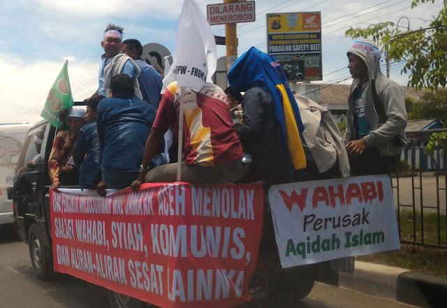 """1 Oktober, Massa Ahlussunnah Wal Jamaah """"Putihkan"""" Banda Aceh"""