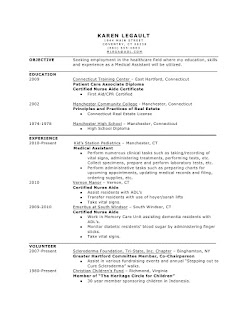 Resume Template Clinical Medical Assistant Templates Inside ...
