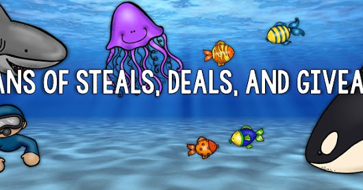 Check out these JAWSOME DEALS with OCEANS of STEALS, DEALS, and GIVEAWAYS!