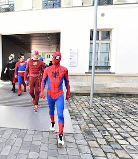 Albania, le forze speciali diventano supereroi per i bambini malati