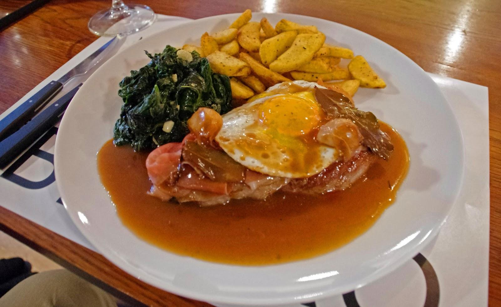 Brown's Central Hotel Lisbon Bistro Dinner