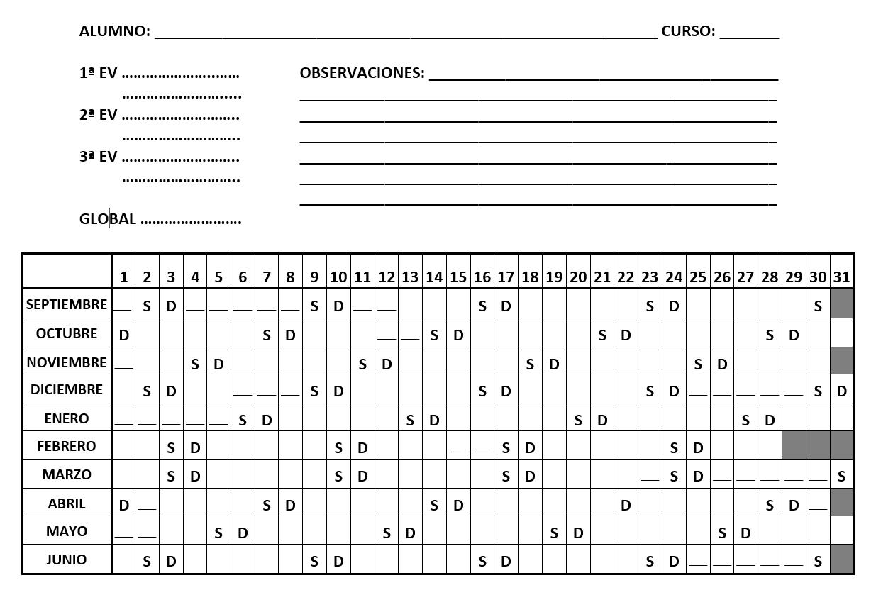 Reli en Grande: Calendario Escolar 2017 - 18