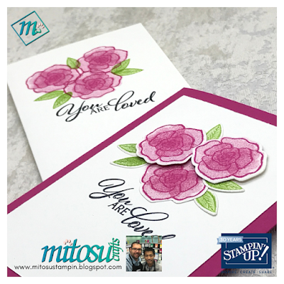 Forever Lovely stamp set from Stampin' Up! handmade by Mitosu Crafts