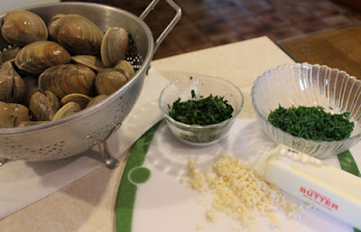 Grilled Clams Ingredients