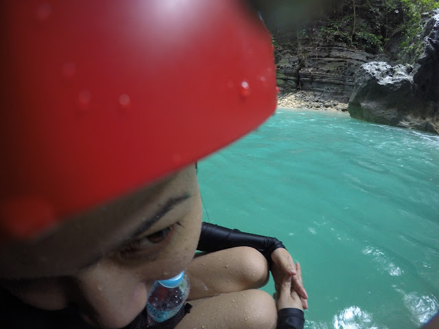 Canyoneering at Badian Cebu