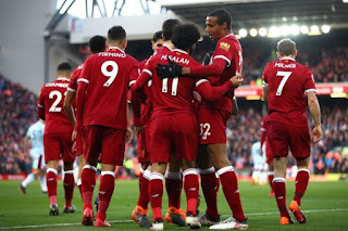 Sport: : Liverpool displace Manchester United from second position