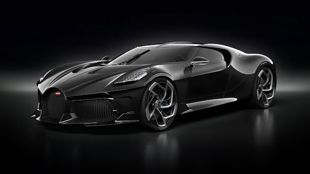 "Bugatti's La Voiture Noire is absolute elegance and the ""world's most expensive car"""